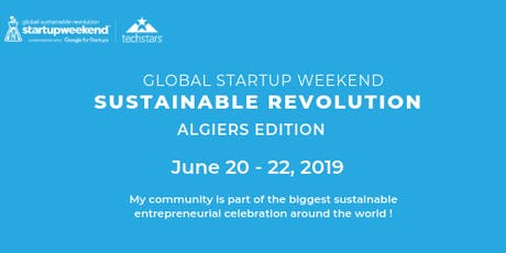 Global Startup Weekend Sustainable Revolution- ALGER Edition tickets