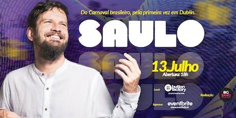 Saulo Fernandes - Dublin tickets