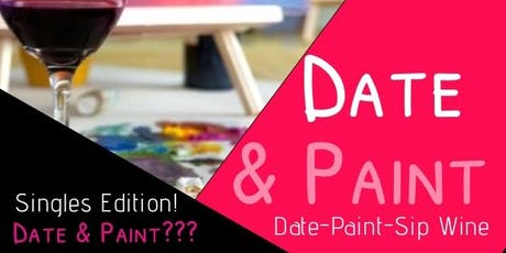 True Dreams Radio Presents: Date & Paint- Speed Dating Edition!  tickets