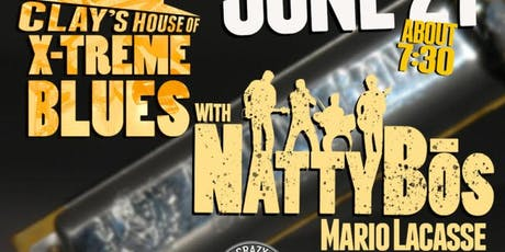 Clay Goldstien's House of X-Treme Blues with Natty Bos tickets