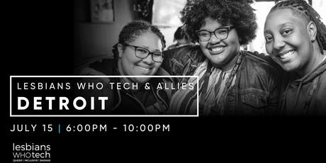 Lesbians Who Tech & Allies Detroit Movie in the Park tickets