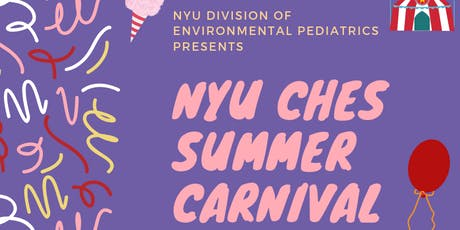 NYU CHES Summer Carnival tickets