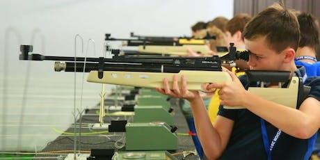 Summer Holiday Activity Air Rifle/Pistol Shooting Sevenoaks, Kent 12 August to 15 August tickets