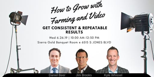 How to Grow to 300+ Sales with Farming and Video w/Jim Brooks