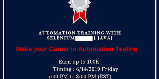 Copy of Automation testing training with selenium (java) demo