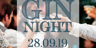Garthmyl Hall Gin Night