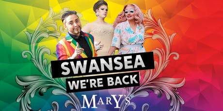 Mary's Swansea 29th June - 18+  tickets