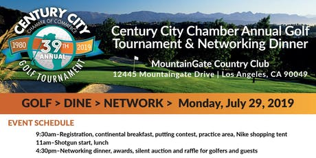 39th Annual Century City Chamber Golf Tournament  tickets