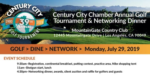 39th Annual Century City Chamber Golf Tournament
