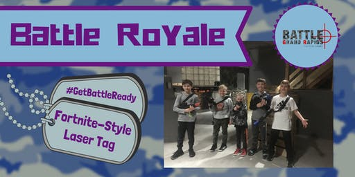 Battle Royale Day - Laser Tag Style