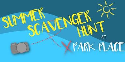 Summer Scavenger Hunt at Park Place