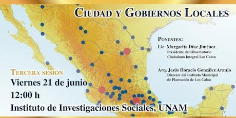 Seminario Permanente Ciudad y Gobiernos Locales entradas