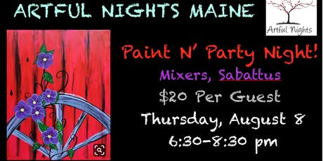Paint N' Party at Mixer's Nightclub & Lounge tickets
