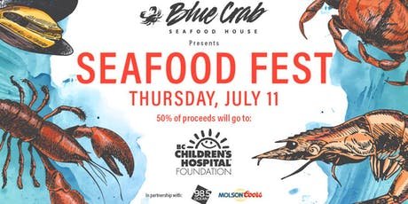 The Blue Crab Seafood House - 2019 Seafood Festival tickets