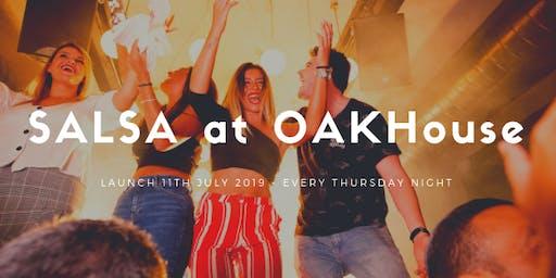 Launch of Salsa at the OAKHouse Maldon