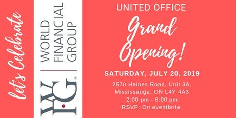 United Office Grand Opening tickets