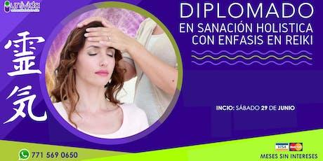 Diplomado en Sanación Holística con Énfasis en Reiki en Pachuca entradas