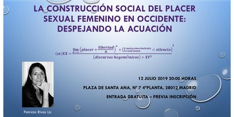 La construcción social del placer sexual femenino en Occidente: despejando la acuación entradas