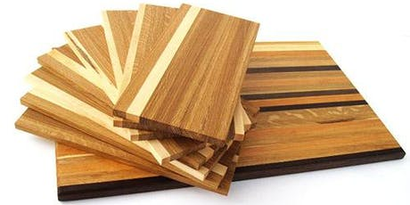 Introductory Wood Shop: Creating a Cutting Board (August 17th and 18th, 2019) tickets