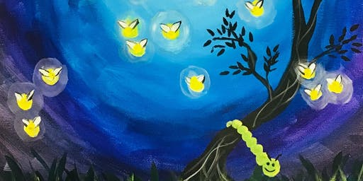 BYOB Paint Night - Fire Flies