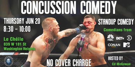 Concussion Comedy | Stand-up Comedy in Washington Heights tickets