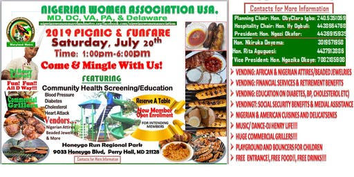 NIGERIAN WOMEN ASSOCIATION SUMMER 2019 FEST