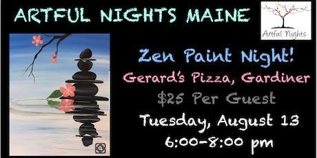 Zen Paint Night at Gerard's Pizza tickets