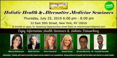 Free ! Holistic Health & Alternative Medicine Seminars tickets