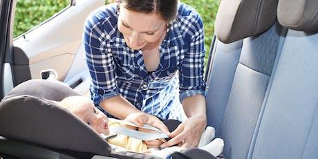 Car Seat Safety Check -Joe DiMaggio Children Hospital/Medical Office-Garage tickets