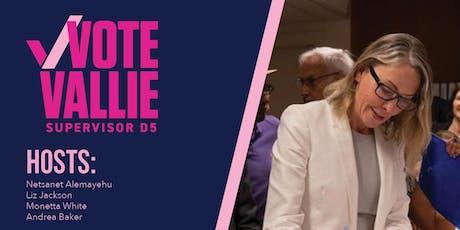 Supervisor Vallie Brown Fundraiser - CANCELED tickets