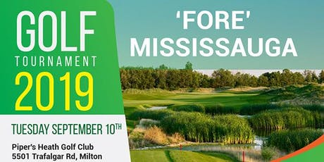 13th Annual 'Fore' Mississauga Golf Tournament  tickets