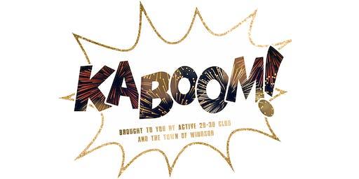 2019 Windsor KABOOM! Fireworks Show