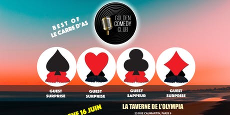 BEST OF du Golden Comedy Club #2 billets