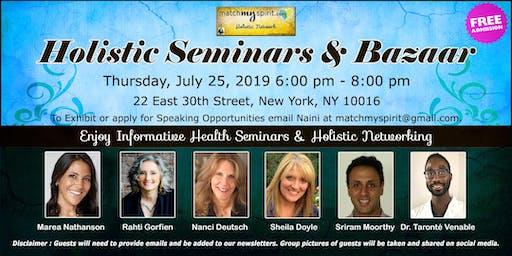 Free ! Holistic Seminars & Bazaar in New York