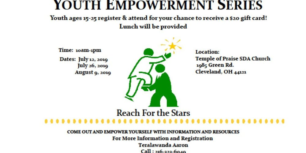 The Spot Youth Empowerment Series Tickets Multiple Dates Eventbrite