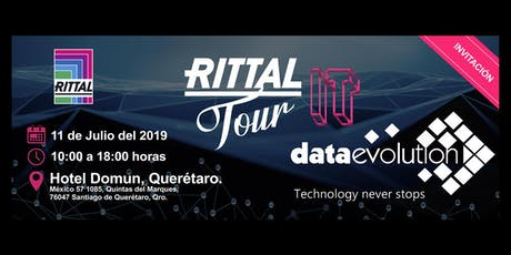 Rittal Tour IT- Data Evolution entradas