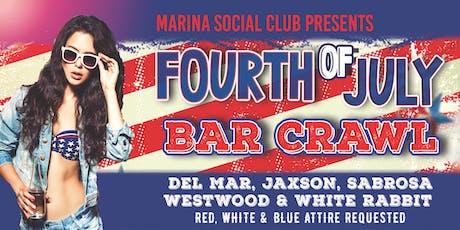 July 4th SF Marina Bar Crawl 2019 tickets