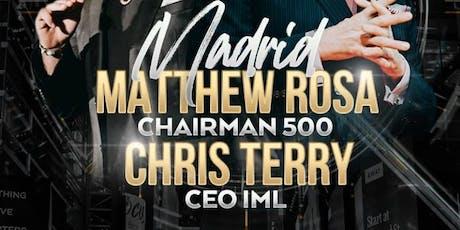 CHRIS TERRY AND MATTHEW ROSA MADRID entradas