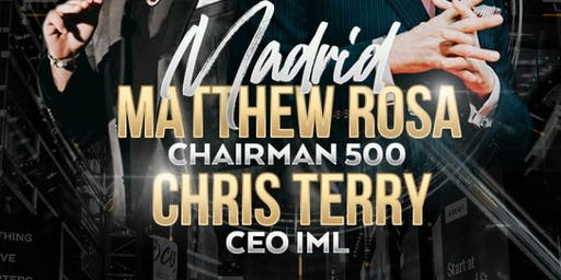 CHRIS TERRY AND MATTHEW ROSA MADRID