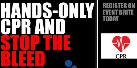 Hands-Only CPR and Stop the Bleed tickets