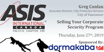 Selling Your Corporate Security Program with Greg Conlan