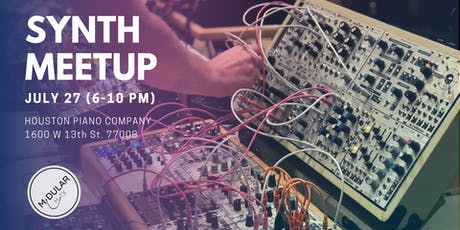 Modular Houston's Monthly Synth Meetup! tickets