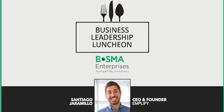 Bosma Business Speaker Series: Santiago Jaramillo tickets