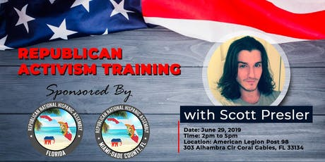Republican Activism Training with Scott Presler South Florida tickets
