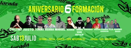 6º ANIVERSARIO FORMACIÓN LA ÉPOCA DORADA