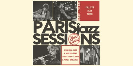 PARIS jazz SESSIONS | Collectif Paris Swing 4tet billets
