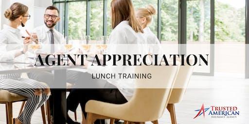 Agent Appreciation Lunch & Training