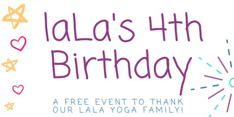 laLa's 4th Birthday tickets