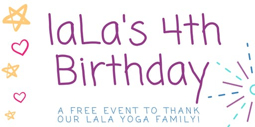 laLa's 4th Birthday