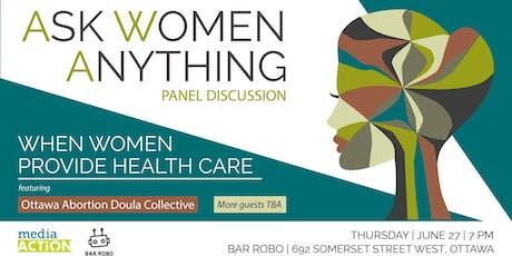 When Women Provide Health Care tickets